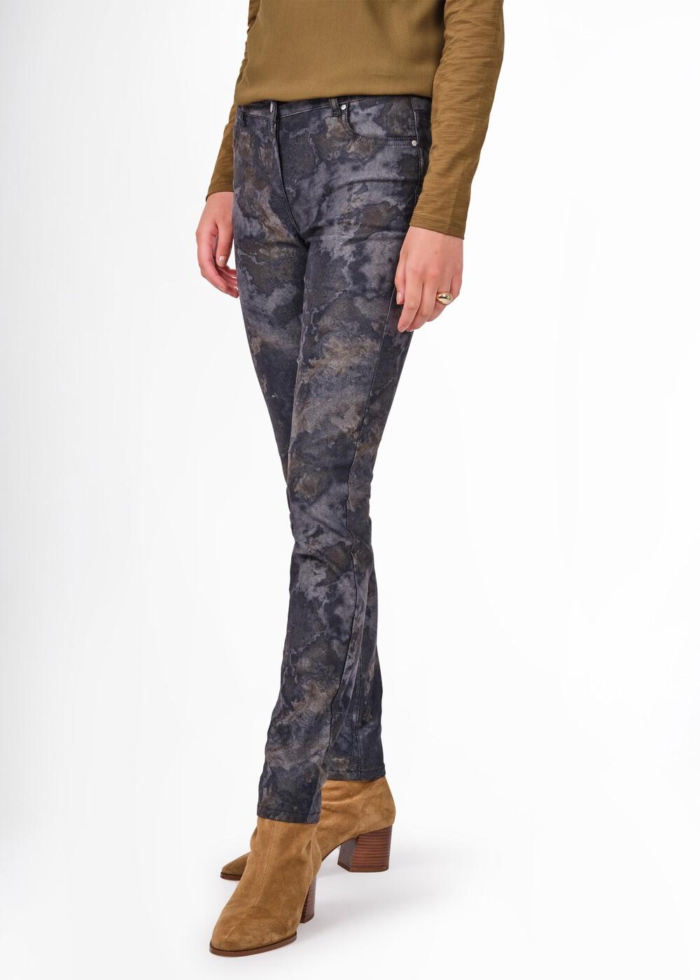 Printed Skinny Jeans  main image