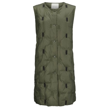 Masai Clothing Trinus Down Gilet - Green