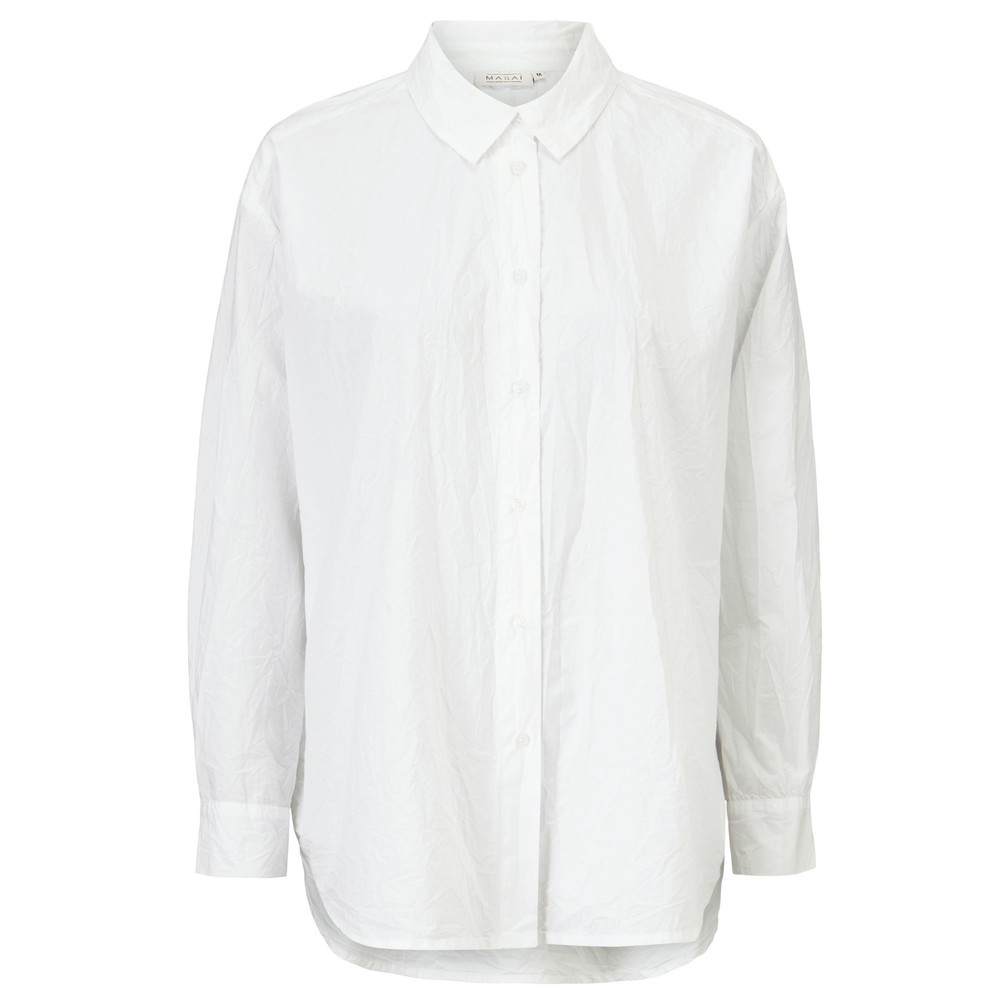 Masai Clothing Inea Shirt White