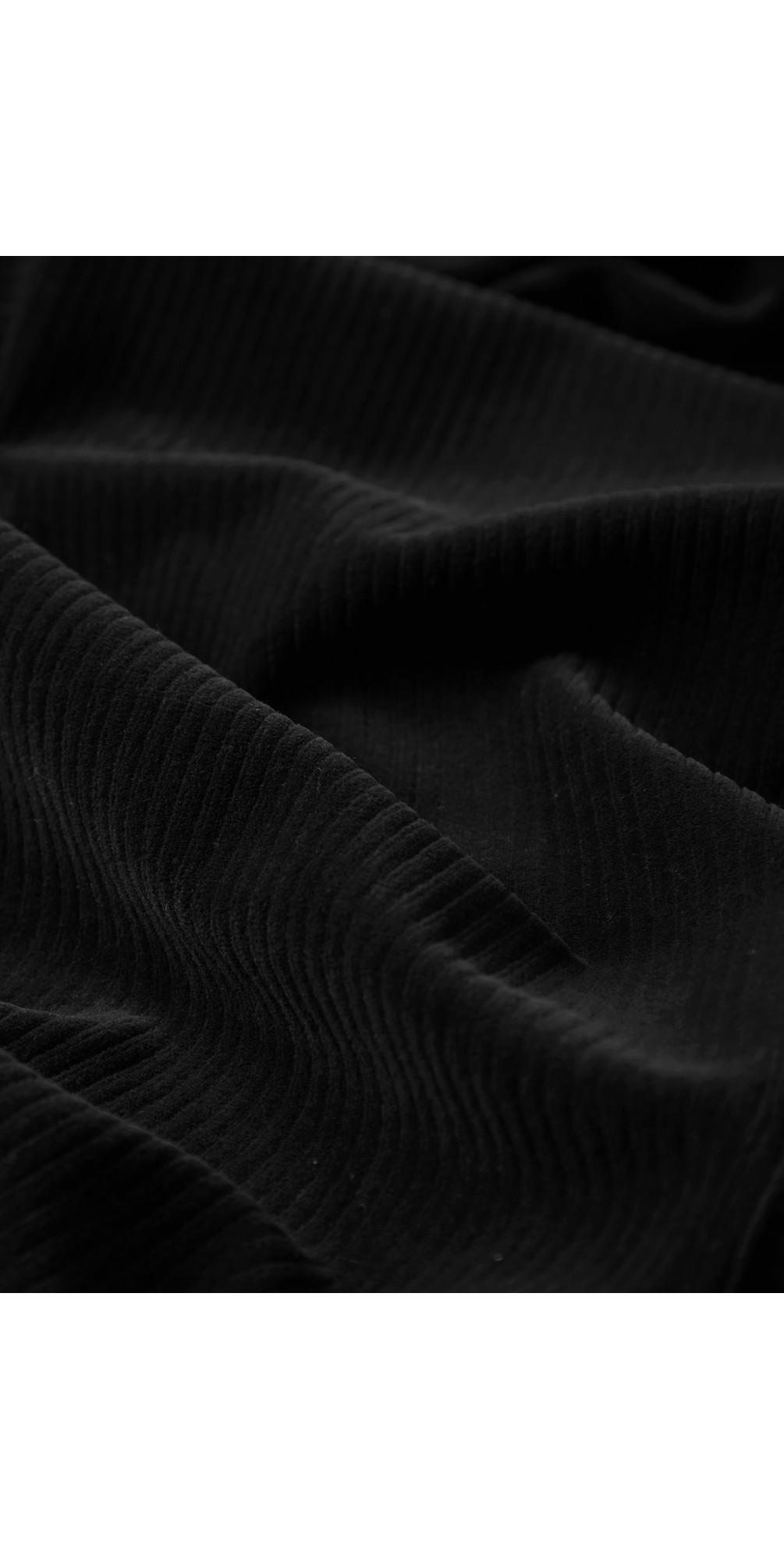 Velvet Rib Boxy Dress main image