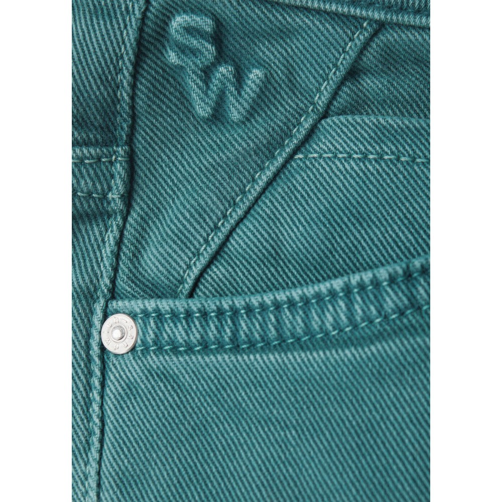 Sandwich Clothing Skinny HIgh Waist Coloured Jeans  Deep Lagoon
