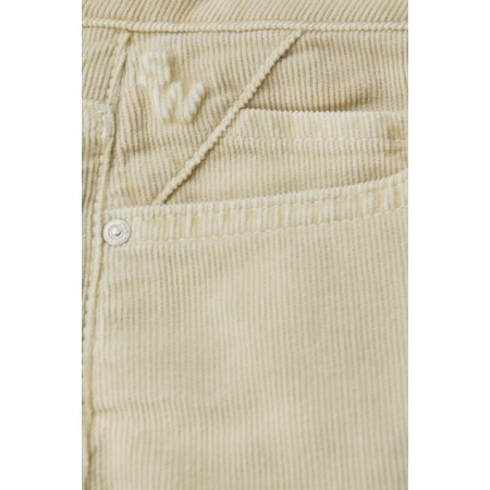 Sandwich Clothing Slim Fit Cord Trouser  - White