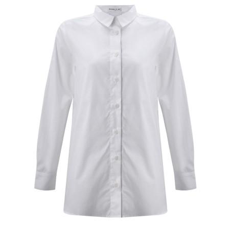 Mes Soeurs et Moi Echasse Cotton Poplin Shirt - White