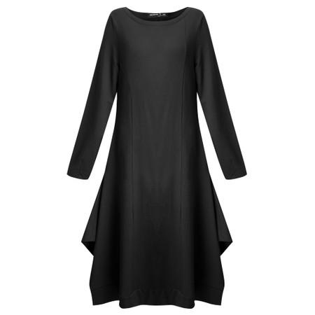 Mes Soeurs et Moi Panthere Molleton Dress - Black