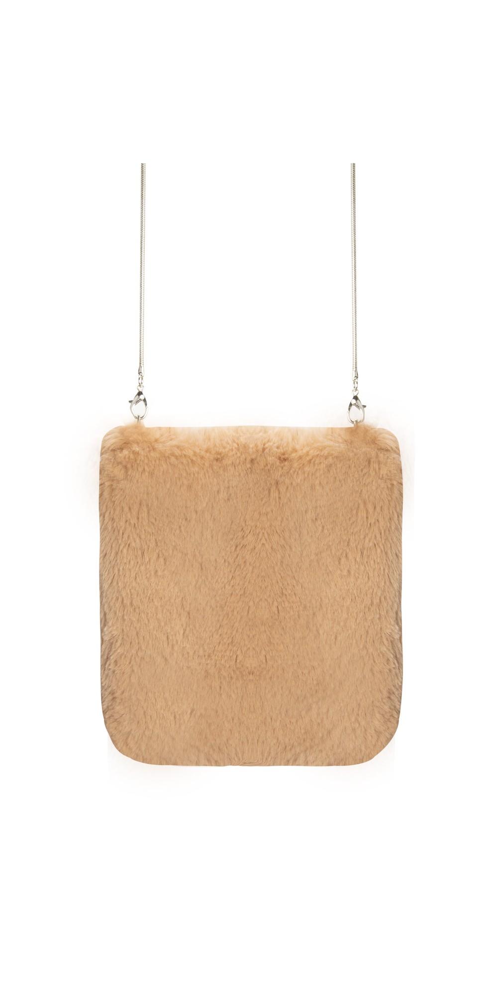 Doxy Cross Body Faux Fur Bag main image