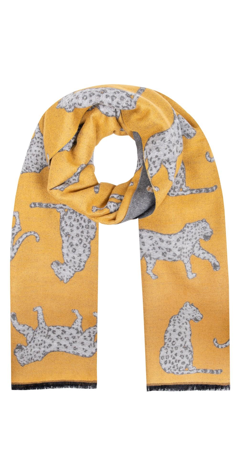 Atara Leopard Scarf main image