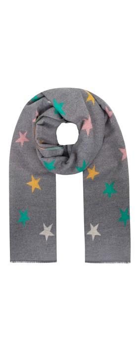 Gemini Label Accessories Seren Star Scarf Grey