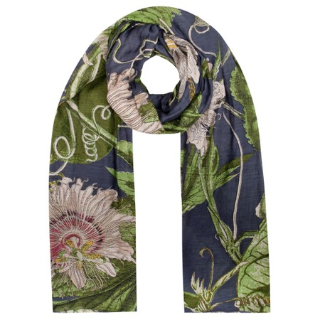 One Hundred Stars Kew Passion Flower Scarf - Boots