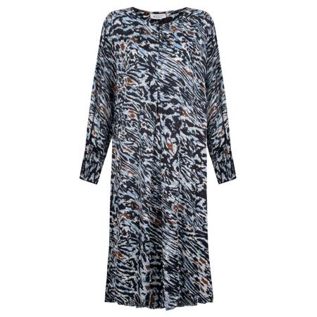 Masai Clothing Norassa Dress  - Blue