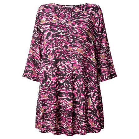 Masai Clothing Glenval Dress - Sangria