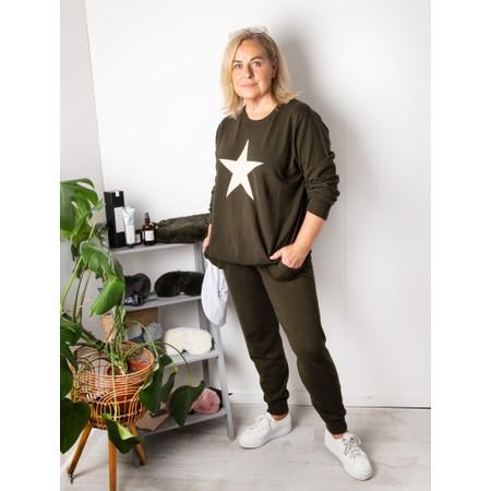 Chalk Taylor Star Jumper - Green