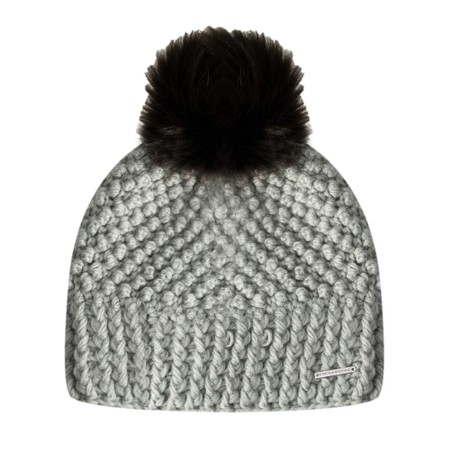 RINO AND PELLE Kevina Beanie Hat and 3 Interchangeable Poms - Green