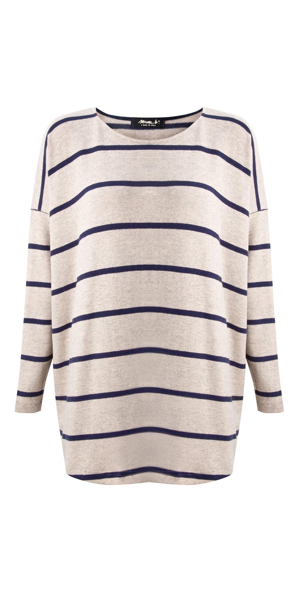 Sunny RG Wide Stripe Fleece Jumper main image