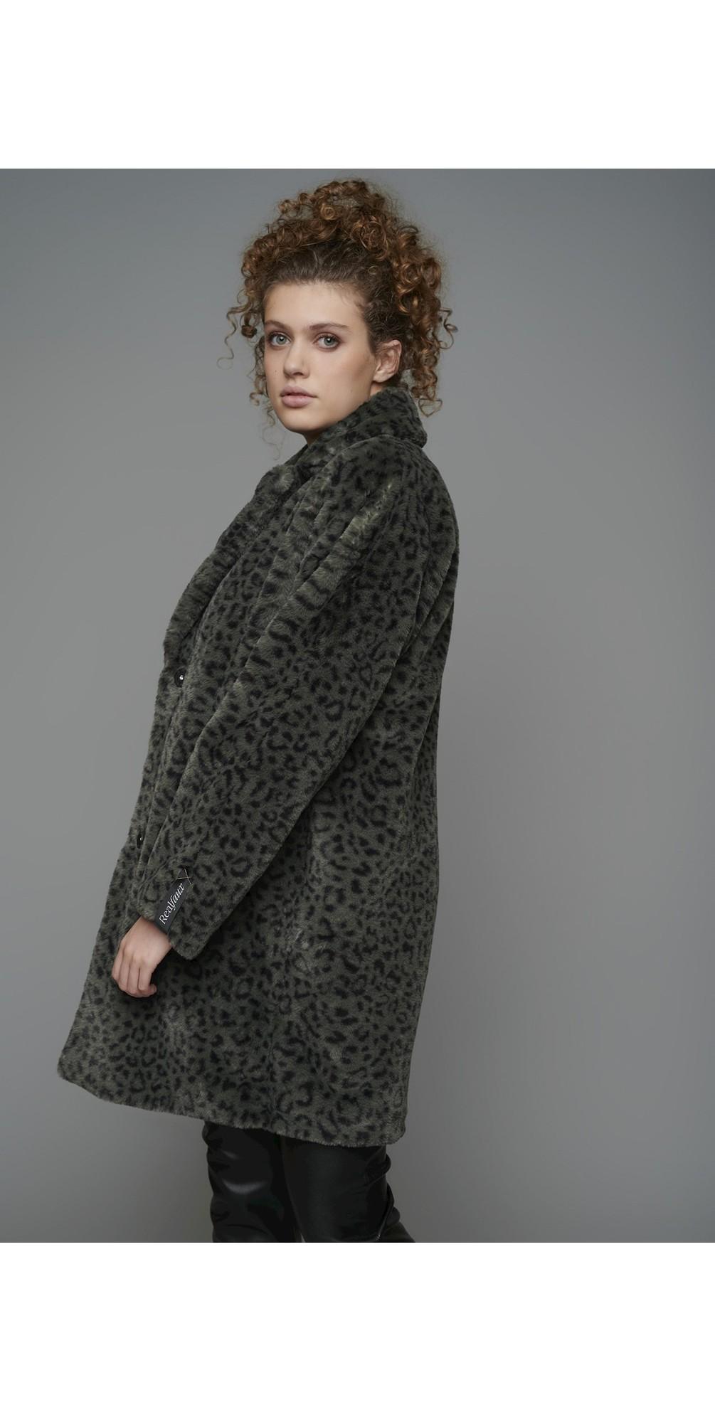 Joela Faux Fur Coat main image