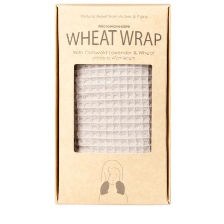 Chalk Willow Wheat Wrap - Grey