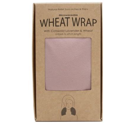 Chalk Lily Lavender Wheat Wrap - Pink