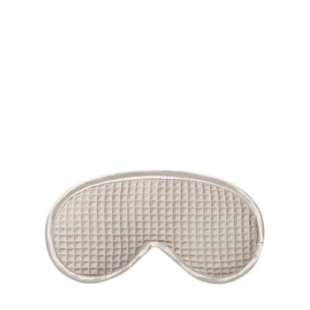 Chalk Bridget Sleep Mask - Grey