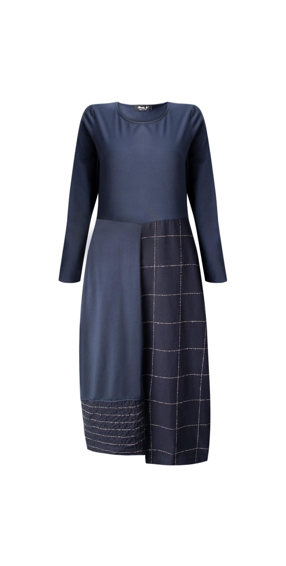 Panna Q Qsant Cotton Check Dress main image