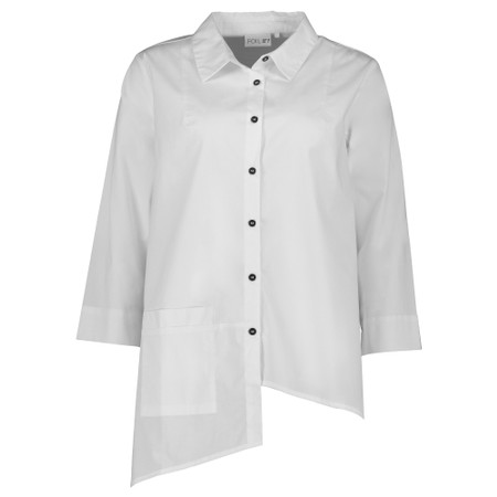 Foil Make A Statement Shirt - White
