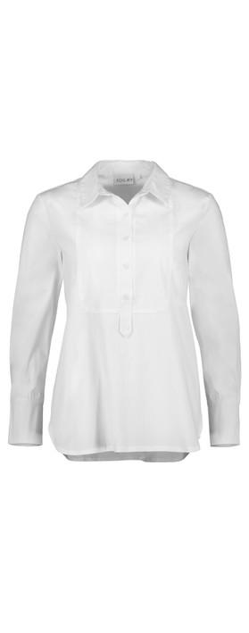 Foil Tux Delight Shirt White