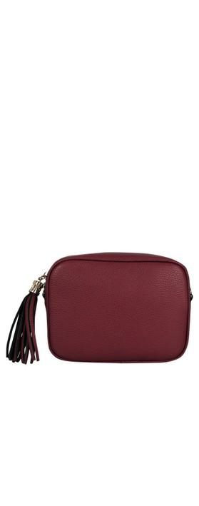Gemini Label Bags Connie Cross Body Bag Plum Red