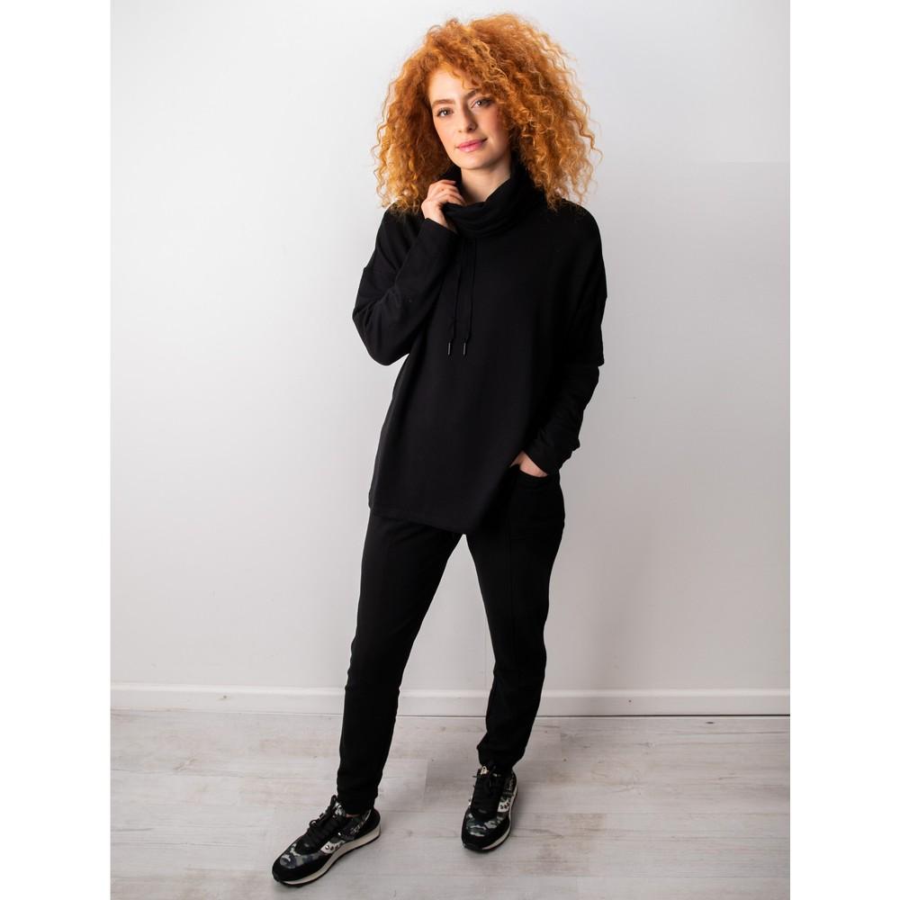 Foil Softly Spoken Jogger Black
