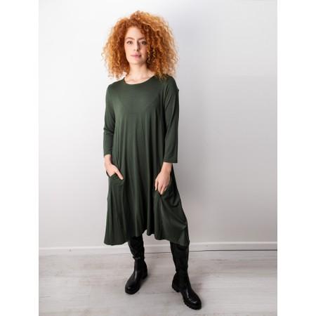 Foil Swing Both Ways Dress - Beige