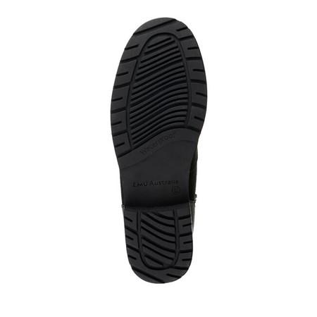 EMU Australia Okab Waterproof Leather Hiker Boot  - Black