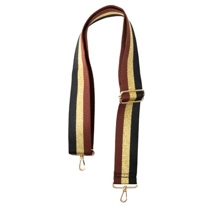 Gemini Label Accessories Greta Bag Strap - Black