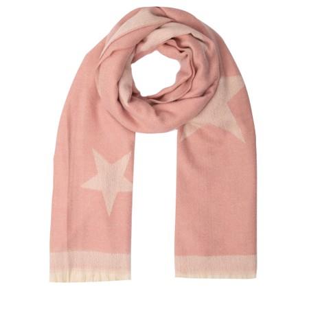 Gemini Label Accessories Zvezda Star Cosy Scarf - Pink