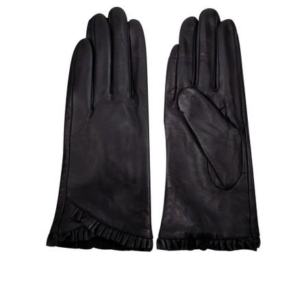 Gemini Label Accessories Liesl Leather Glove  - Black
