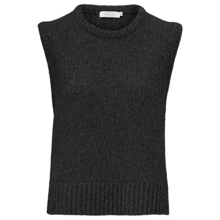 Masai Clothing Fabel Knitted Vest - Grey
