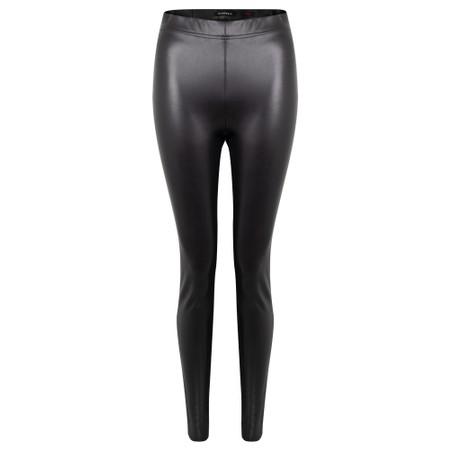 Robell Enie Faux Leather Legging - Black