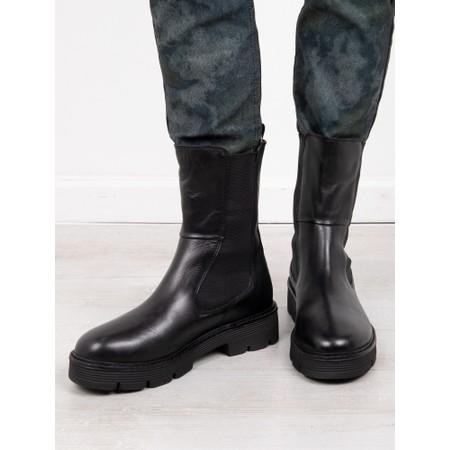 Marco Tozzi Nebiano Chunky Chelsea Boot - Black