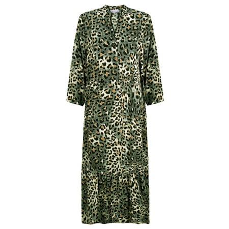 Amazing Woman Pennie Button Prairie Dress - Green