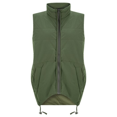 Tirelli Padded Rouch Vest - Green