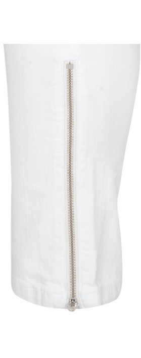 French Connection Janie Skinny Jean Off-White