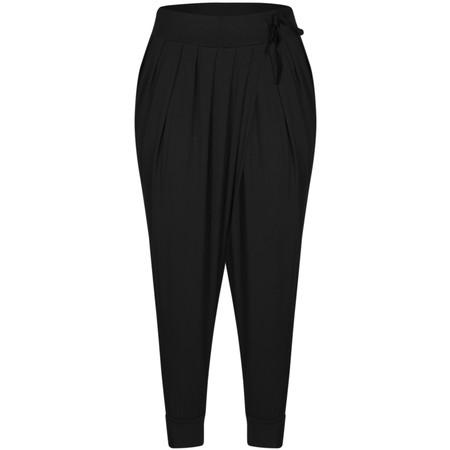 Sandwich Clothing Easy Fit Jersey Trouser - Black