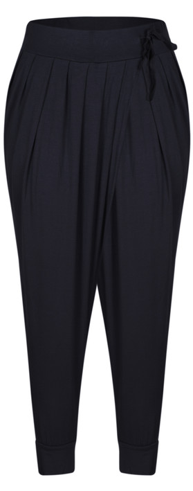 Sandwich Clothing Easy Fit Jersey Trouser Navy