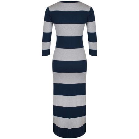 Gemini Woman Dulcie Stripe Dress - Blue