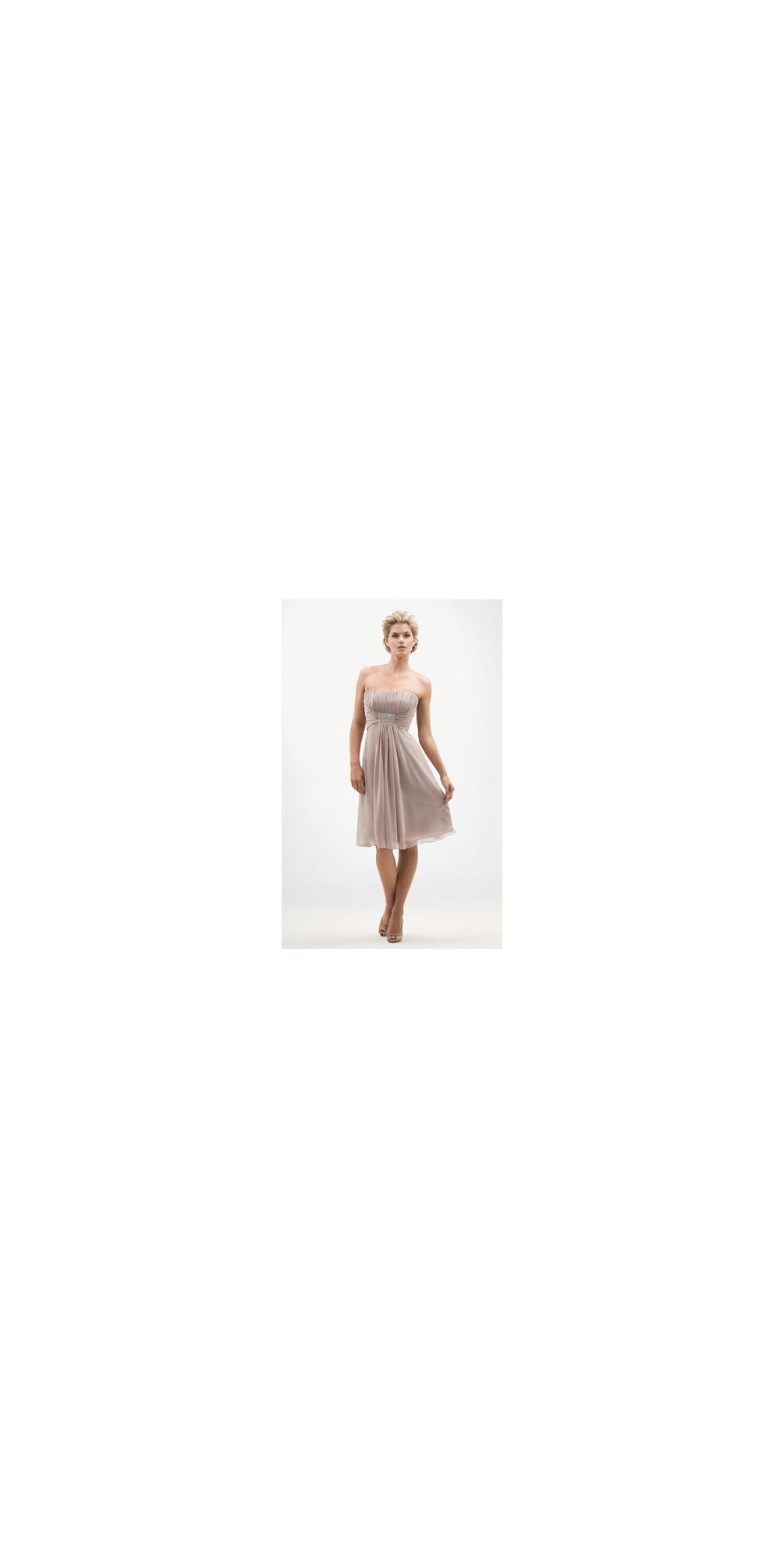 Chiffon T Length Dress main image