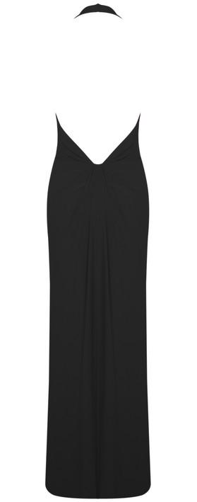 John Charles Long Dress Black 2