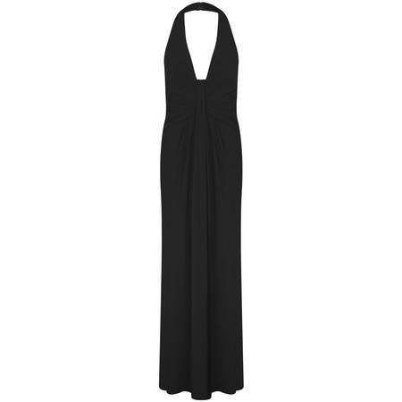 John Charles Long Dress - Black