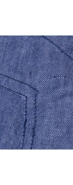 8056688c32e Adini Structured Linen Dress Denim. undefined