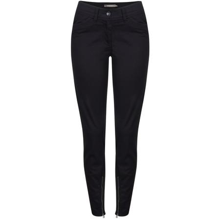 Sandwich Clothing Skinny Cotton Stretch Pants - Black