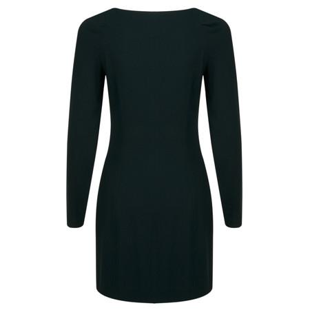 Stills Clothing Long Sleeve Triacetate Dress - Green