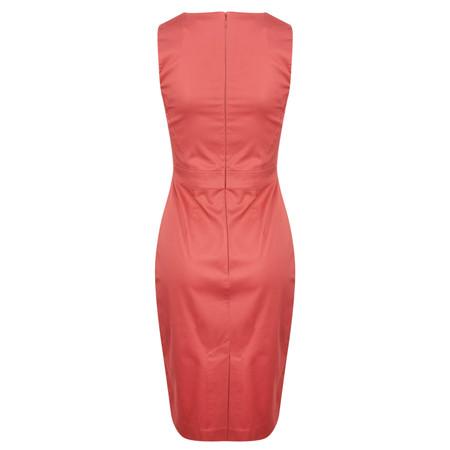 French Connection Wizard Sleeveless Dress - Orange