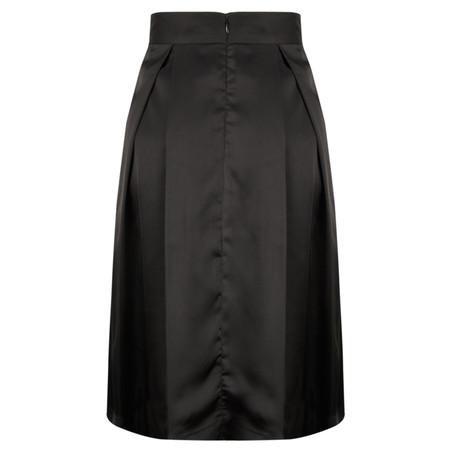 Great Plains Dolly Satin Full Skirt - Black