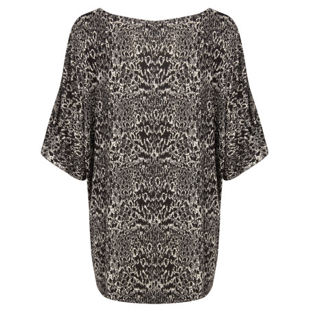 French Connection Wild Wendy Jersey Top - Black