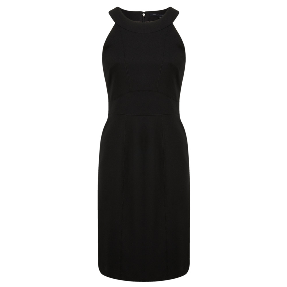 French Connection Dancing Art Dress Black